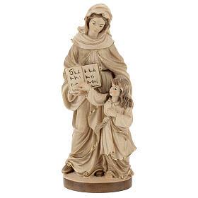 Sant'Anna brunita 3 colori legno acero Valgardena s1