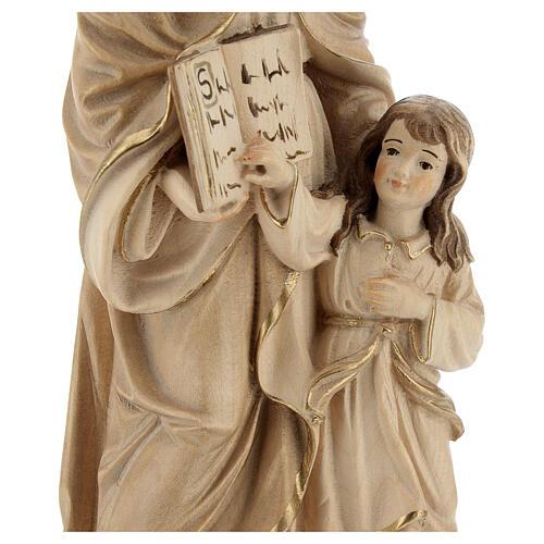 Sant'Anna brunita 3 colori legno acero Valgardena 2