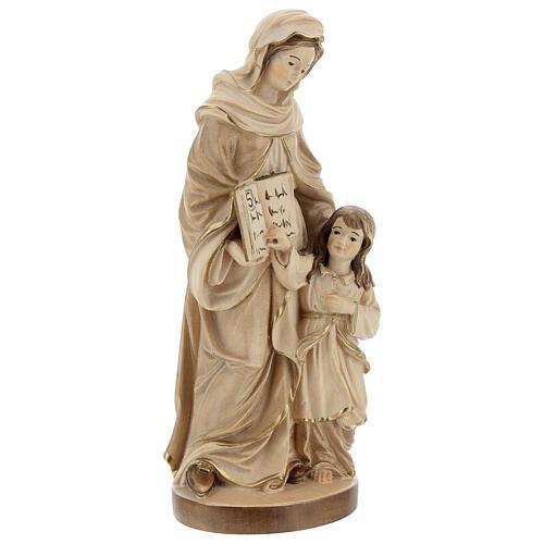 Sant'Anna brunita 3 colori legno acero Valgardena 5