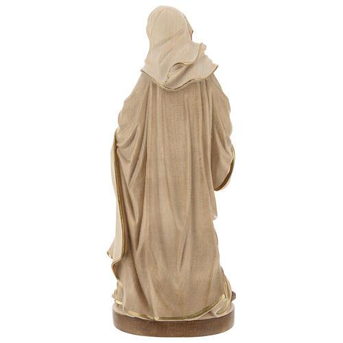 Sant'Anna brunita 3 colori legno acero Valgardena 6
