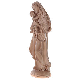 Our Lady of Peace in natural wood of Valgardena s3