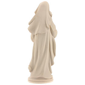 Our Lady of Peace in natural wood of Valgardena s5