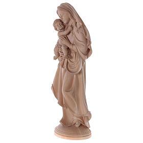 Madonna della pace legno Valgardena naturale s3