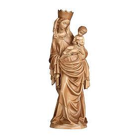 Madonna Krumauer legno Valgardena brunito 3 colori s1
