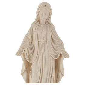 Our Lady of Graces in natural wood of Valgardena s2