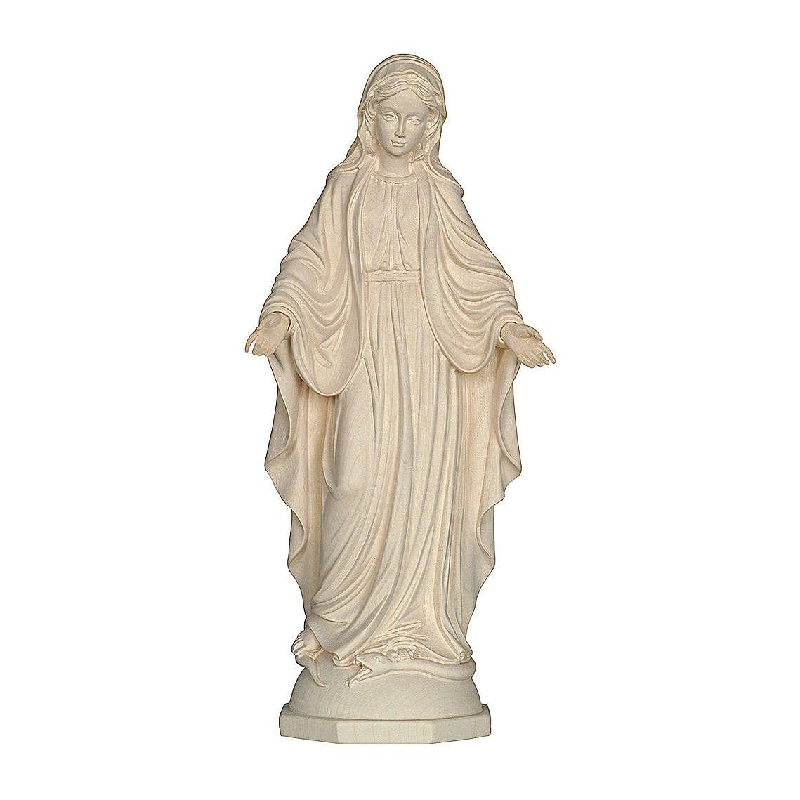 Madonna delle Grazie legno Valgardena naturale 4
