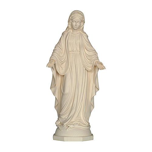 Madonna delle Grazie legno Valgardena naturale 1