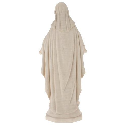 Madonna delle Grazie legno Valgardena naturale 5
