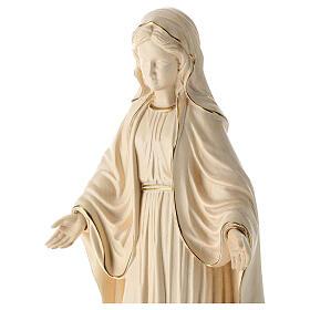 Madonna delle Grazie legno Valgardena brunito 3 colori s2