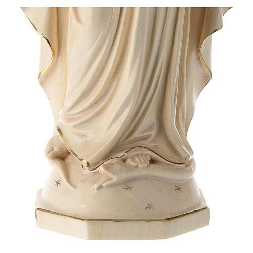 Madonna delle Grazie legno Valgardena brunito 3 colori 6
