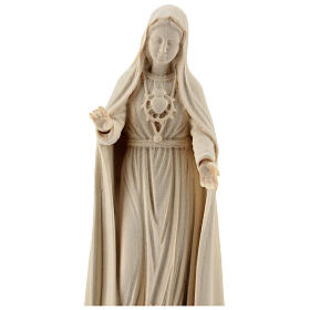 Notre-Dame de Fatima 5ème apparition bois Val Gardena naturel s2