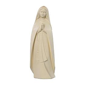 Madonna del pellegrino legno Valgardena naturale s1