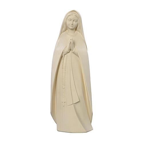 Madonna del pellegrino legno Valgardena naturale 1