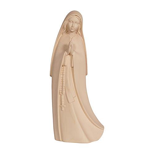 Madonna del Santuario legno Valgardena naturale 1