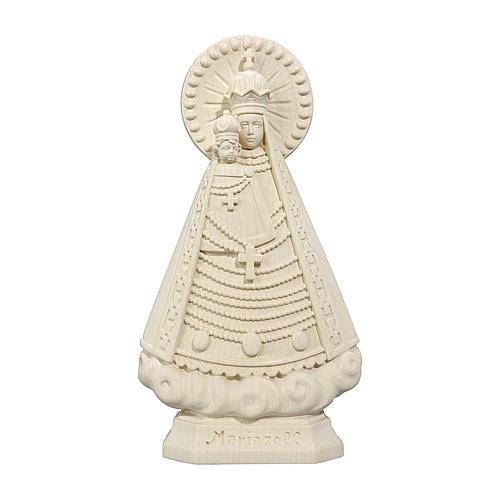 Madonna Mariazell legno Valgardena naturale 1