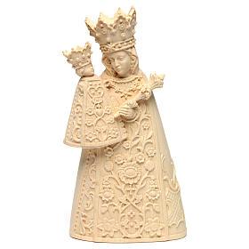 Imágenes de madera natural: Virgen de Altötting madera Val Gardena natural