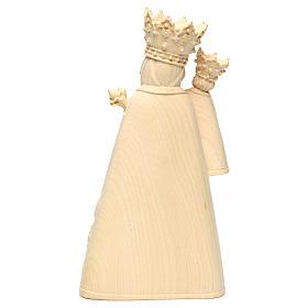 Madonna di Altötting legno Valgardena naturale s5