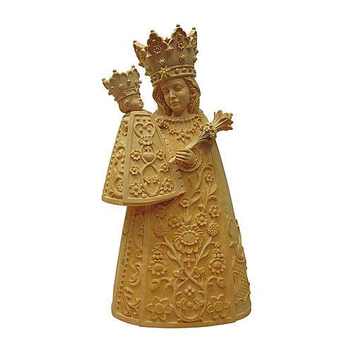Madonna di Altötting legno Valgardena naturale 1