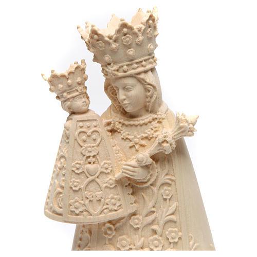 Madonna di Altötting legno Valgardena naturale 2