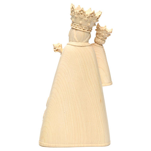 Madonna di Altötting legno Valgardena naturale 5