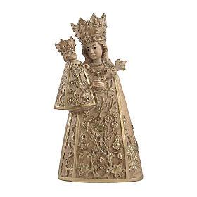 Imágenes de madera natural: Virgen de Altötting madera Val Gardena bruñida 3 colores