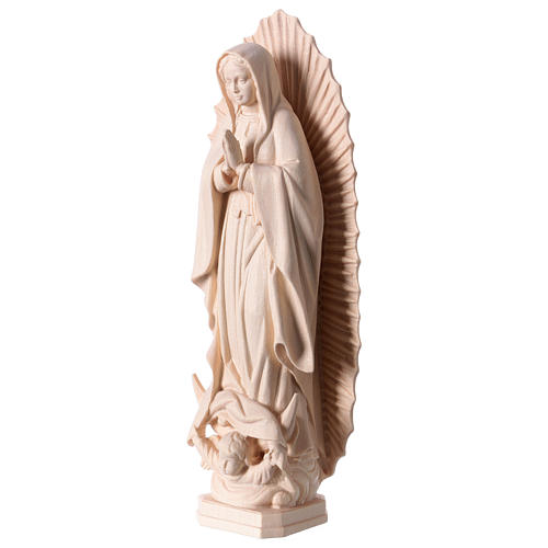 Nossa Senhora de Guadalupe madeira Val Gardena natural 4