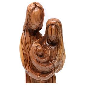 Statue Sainte Famille olivier de Bethléem 40 cm s2