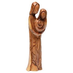 Statue Sainte Famille olivier de Bethléem 40 cm s4