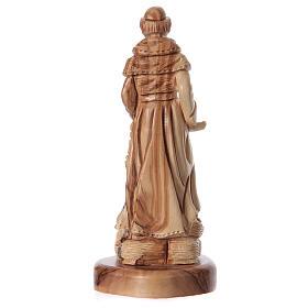 Estatua San Francisco de olivo de Belén 23 cm s4