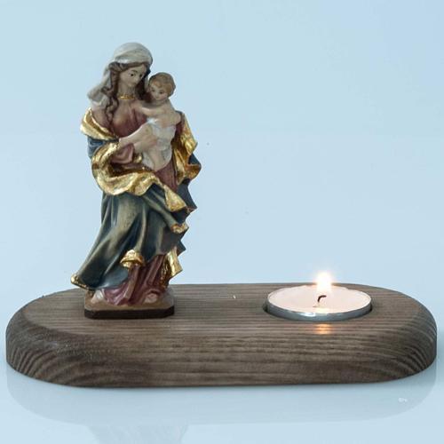Vierge et enfant avec lampe votive 1