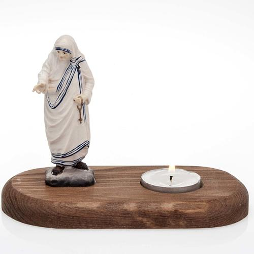Mother Teresa with Votive Candle 1