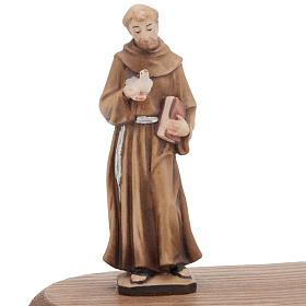 S.François d'Assisi avec lampe votive s3