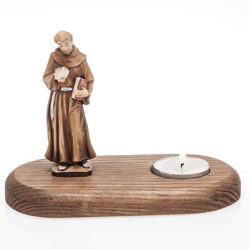 S.François d'Assisi avec lampe votive 1
