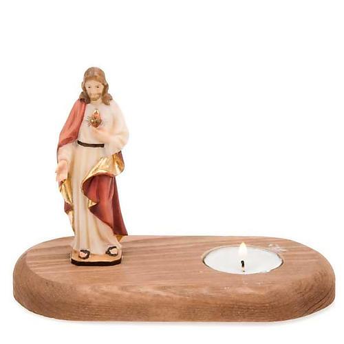 Sacro Cuore di Gesù con lume 1