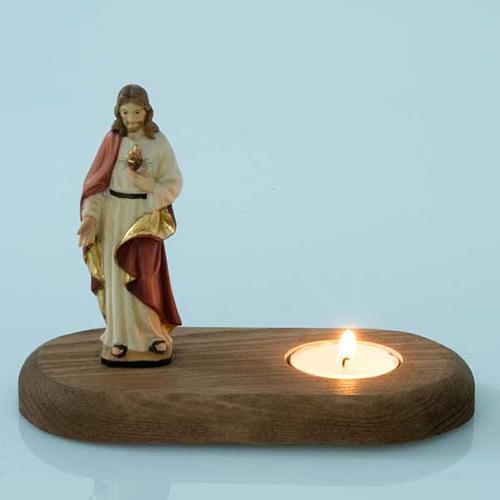 Sacro Cuore di Gesù con lume 2