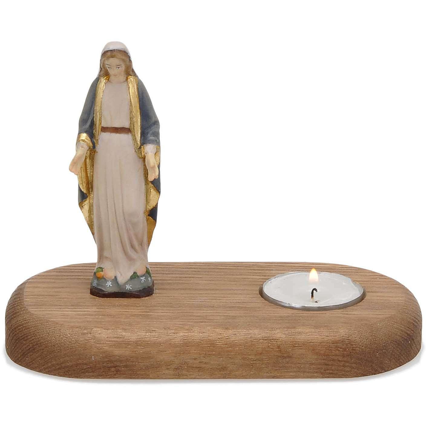 Vierge avec lampe votive 3