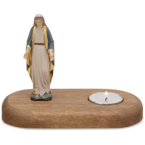 Vierge avec lampe votive 1