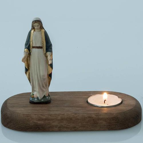 Vierge avec lampe votive 2