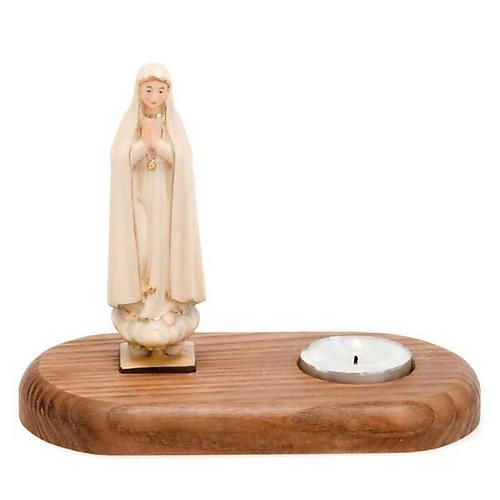 Vergine di Fatima con lume 1