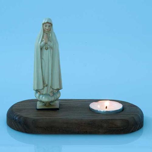 Vergine di Fatima con lume 3