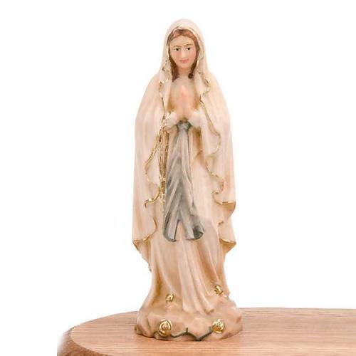 Virgen de Lourdes con vela 2