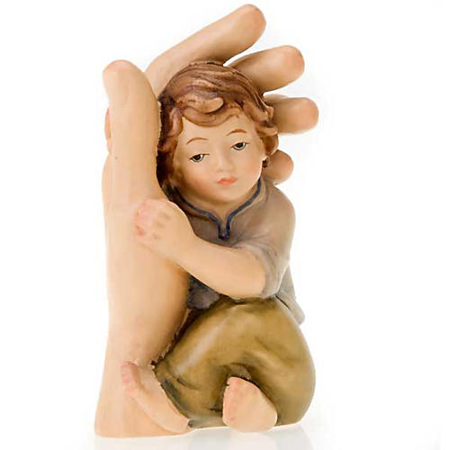 Hand of God with child 3