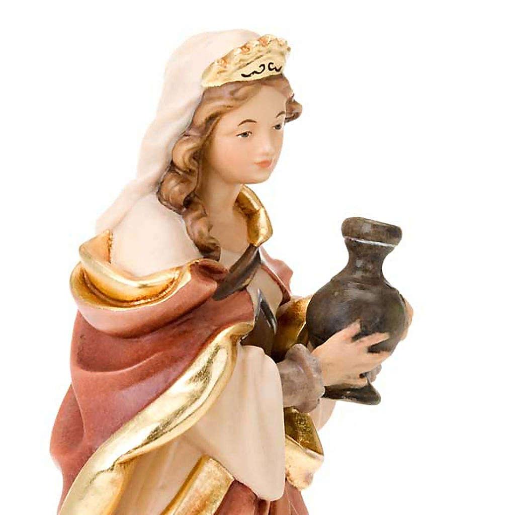 Sainte Marie Magdalena, statue bois 4
