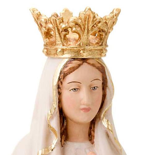 Vierge de Lourdes couronnée 2