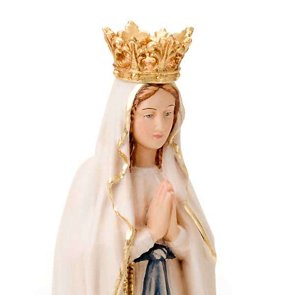 Our Lady of Lourdes, hand-painted statue 4