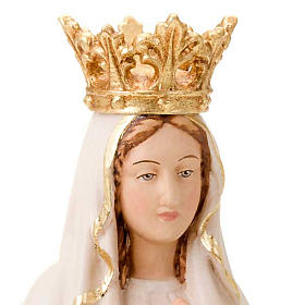 Our Lady of Lourdes, hand-painted statue s2