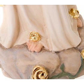 Our Lady of Lourdes, hand-painted statue s3