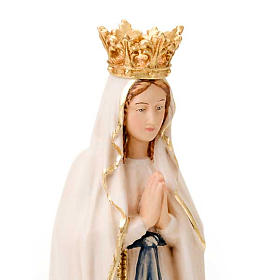 Our Lady of Lourdes, hand-painted statue s4