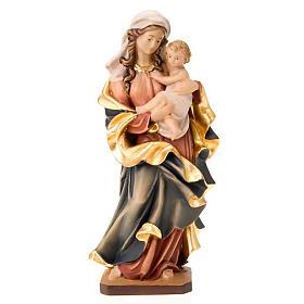 Imágenes de Madera Pintada: Estatua Virgen del Corazón