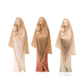 Statues en bois peint: Mère de tous les fidèles